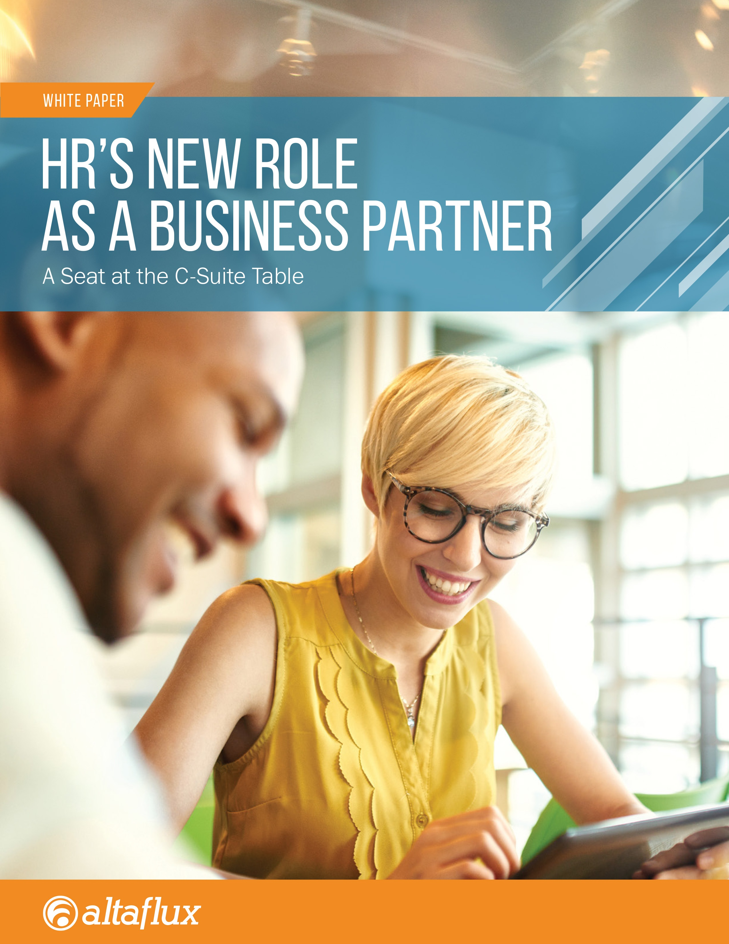 AltaFlux White Paper HR's New Role as a Business Partner