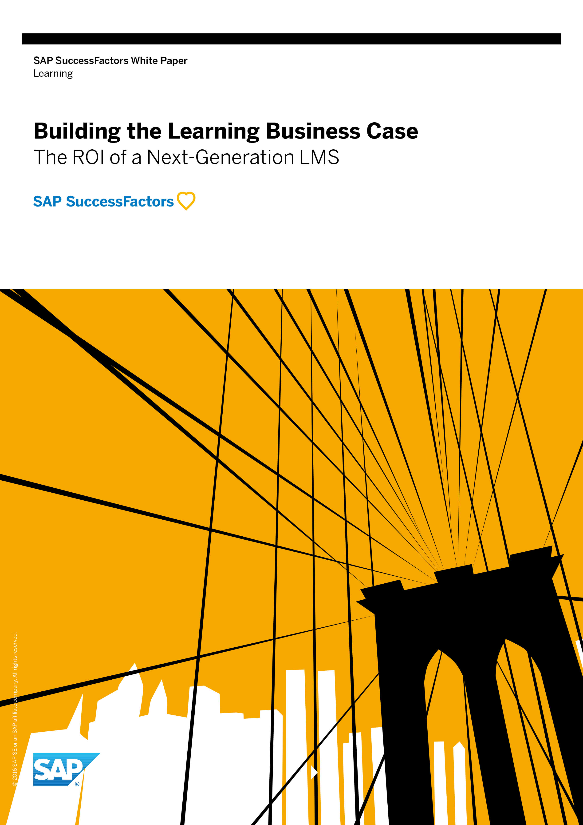 SAP SuccessFactors Whitepaper - Learning - Building the Learning Business Case
